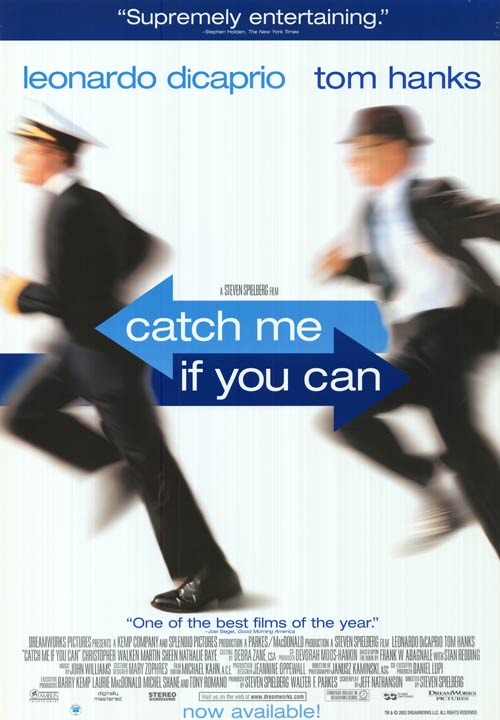 Catch me if you can movie review essays