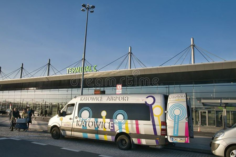 Katowice Airport Shuttle Bus